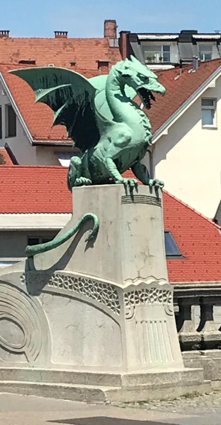 The dragons of Ljubljana